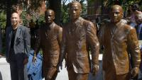 Ford Greene and Trailblazers Statues